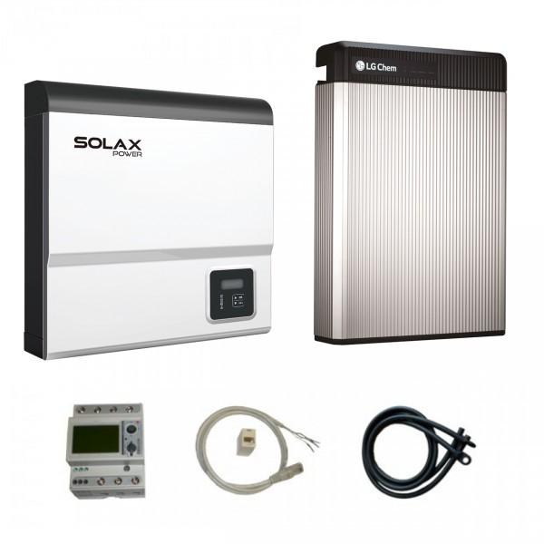 LG Resu 6.5 & Solax SK-SU5000E X-Hybrid G2 Paket