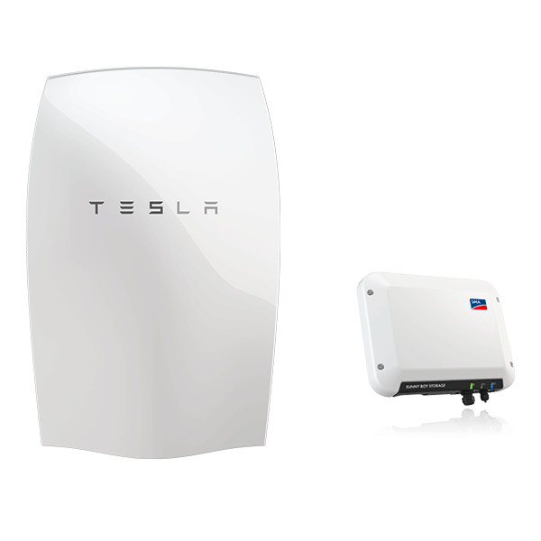 die tesla powerwall sma jetzt bei memodo kaufen memodo. Black Bedroom Furniture Sets. Home Design Ideas
