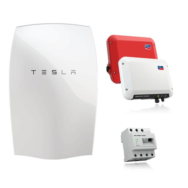 Tesla Powerwall & SMA SB Storage 2.5 & SB 2.5