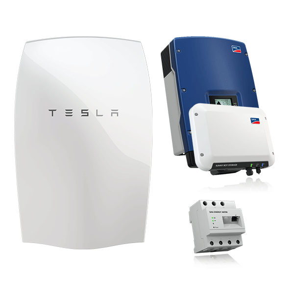 Tesla Powerwall Set & SMA STP 8000 TL-20