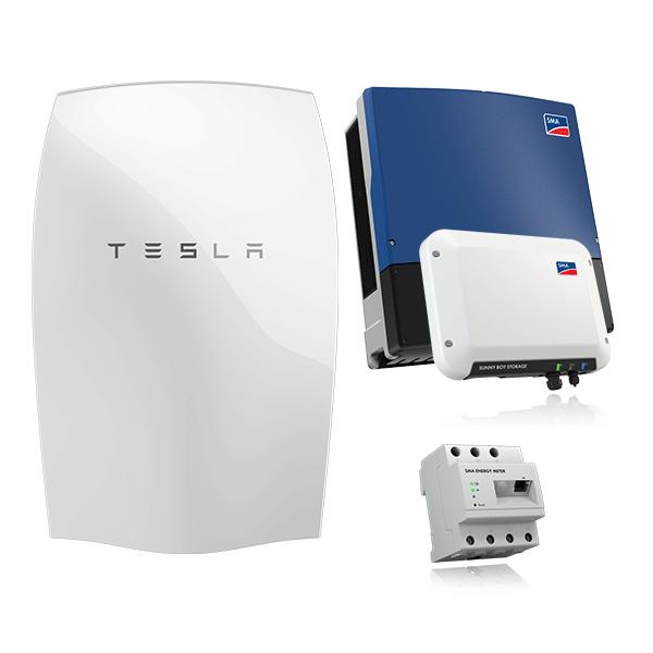 Tesla Powerwall & SMA SB Storage 2.5 & STP 25000