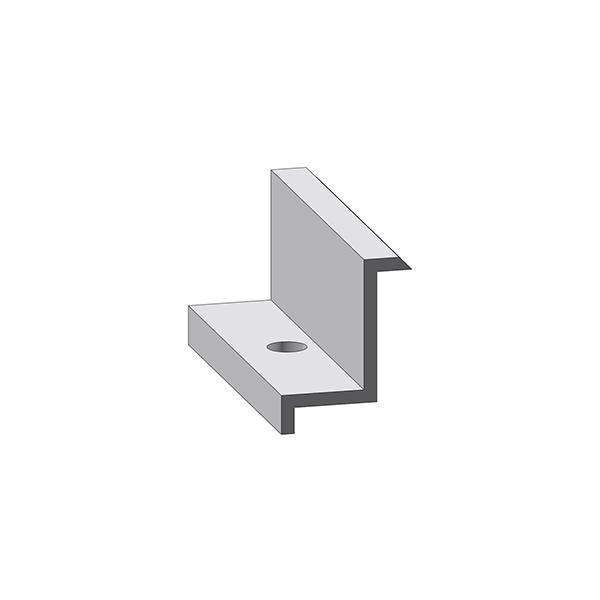 Alumero Abschlussklemme 50, Länge 80 mm