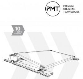 PMT Gestell EVOlution für Flachdach Süd 10°