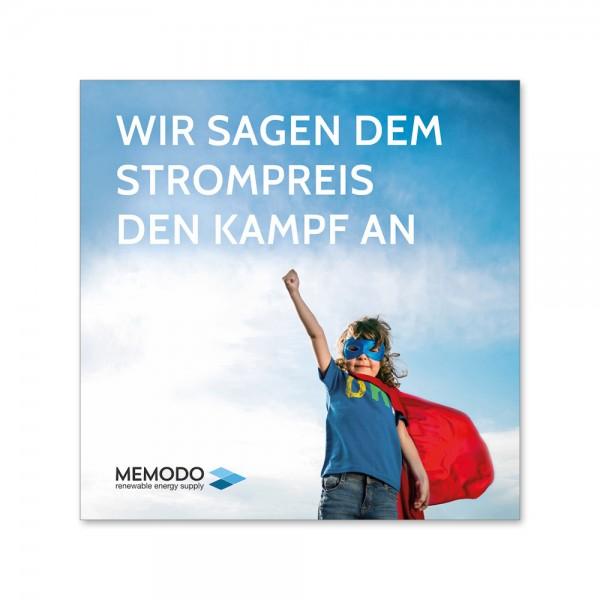 Memodo - Endkundenflyer (200 Stück)