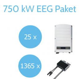 SolarEdge 750kW EEG Commercial Paket