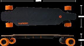 Yuneec E-GO 1, Elektro-Longboard, 400W