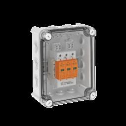 OBO Überspannungsbox DC Typ I+II, 1 MPP, Klemmen