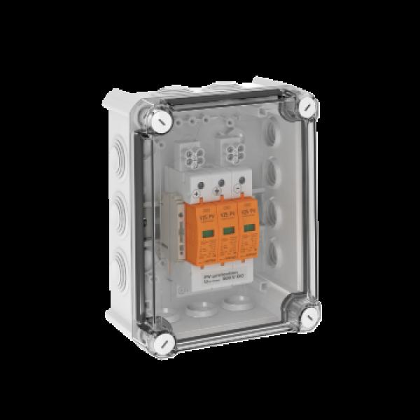 OBO Überspannungsbox DC Typ I+II, 2 MPP, Klemmen