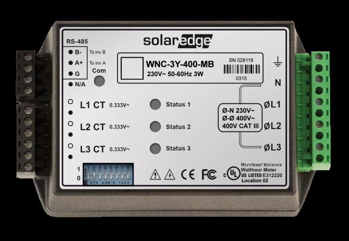 SolarEdge Modbus-Zähler 1/3PH