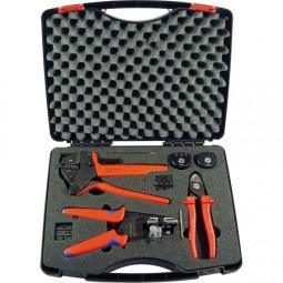 MC4 Werkzeugkoffer, Press- / Abisolierzange