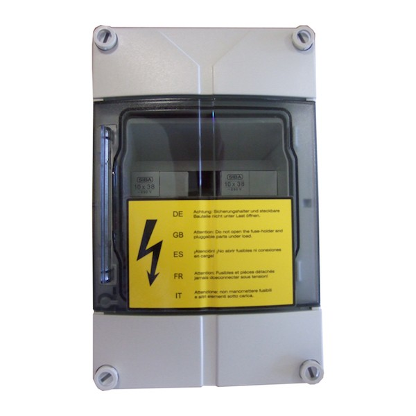 SolarEdge Tesla Fuse Combiner Box